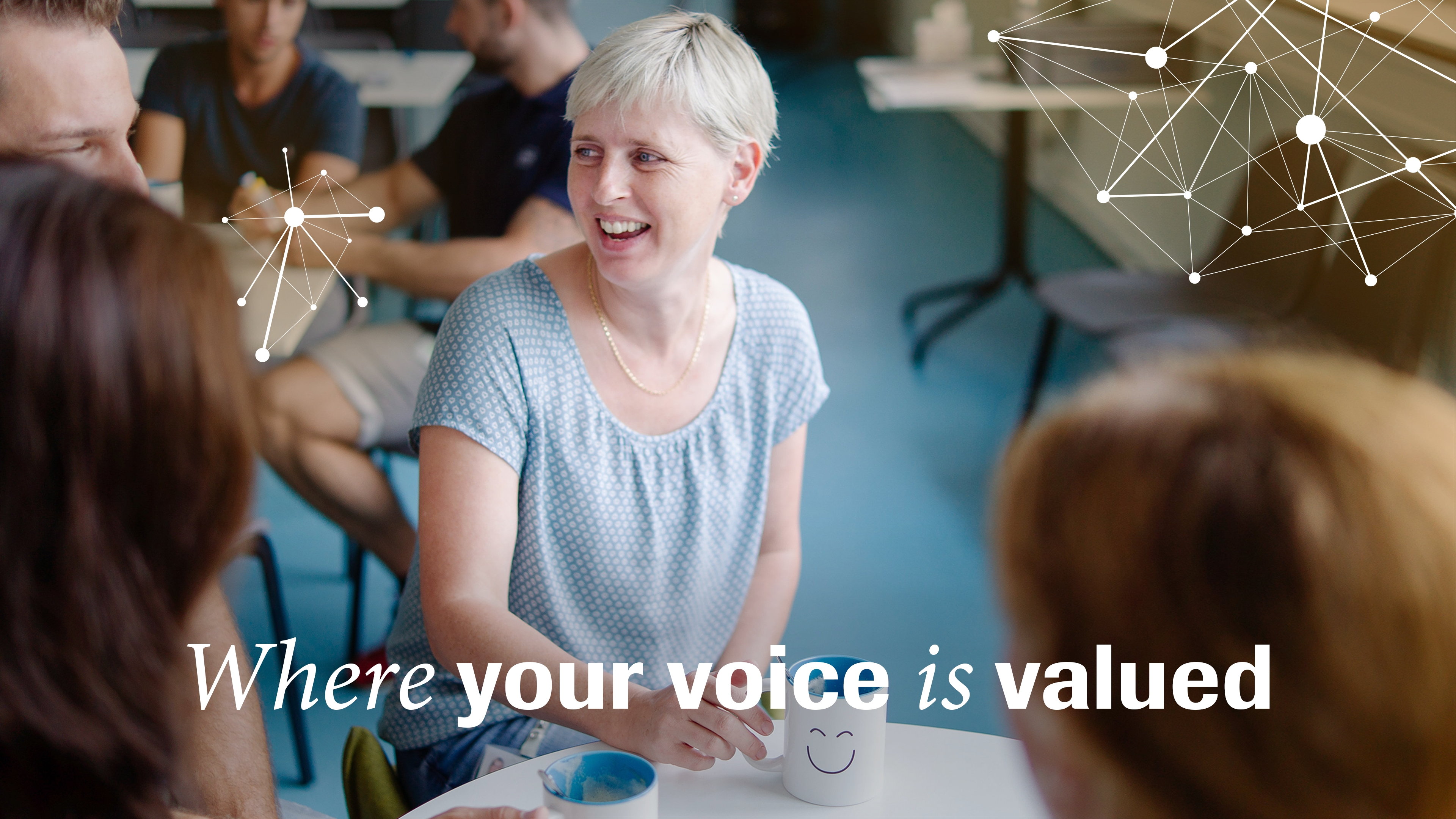 Where your voice is valued